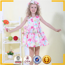 Chinese clothes brands , 100 cotton charming apparel baby girls dress