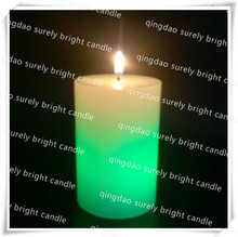 2015 hot selling alibaba led candle romantic pillar candle
