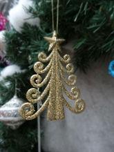 chrismas decoration,chrismas ornaments accessories,glitter tree
