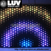 Led dj light curtain display screen video flexible led curtain for stage decor