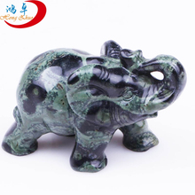 wholesale gemstone animal carvings, hand carved elephant