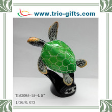 Fashion turtle crafts, polyresin sea turtle model for home decoration
