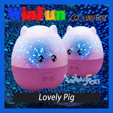 Remote control with sound happy birthday star lights Valentine's day gifts projection lamp