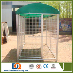 Various size of Cheap welded Dog run kennels