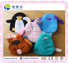 Custom OEM Children/Baby Animal Shaped Plush Cloth Book Preschooler Book