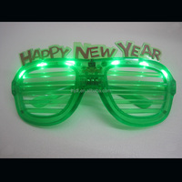 New LED green flashing light Party Sunglasses