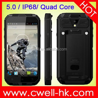 1GB RAM 4GB ROM outdoor cell phone ip68 waterproof