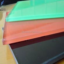 Decorative Glass Panels / Silk Screen Print Colored Glass Sheets