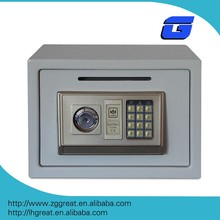 Digital counting money box coin drop box safes