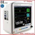 12 '' Multi parámetro Monitor Monitor de signos vitales equipo de monitoreo con CE