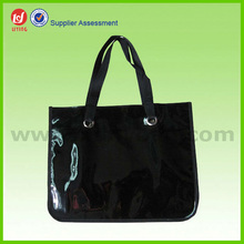 New Fashion Reusable PVC Leather Shopping Bag