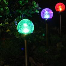 competitive price led solar light for garden XLTD719 led solar glass ball light