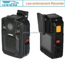 HD 1080P digital camera GPS/WiFi walkie-talkie body worn police camera recorder