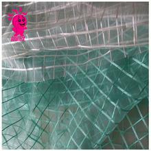 Fine plaid transparent chiffon yarn diy handmade organza puff skirt hair accessory fashion embroidery fabric