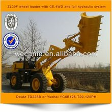 high quality with resonable price pitchfork loader zl-36f