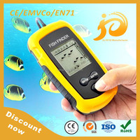 Discount now portable fish finder reviews with black and white / color LCD display
