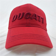 2015 embroidery and sequine red custom baseball cap bulk in reasonable price