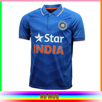 Customized sublimation indian cricket jersey