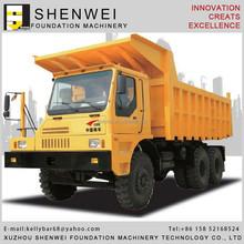 Mining heavy duty dump truck