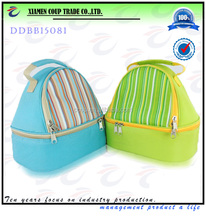 promotional double laye cooler bag lunch bag