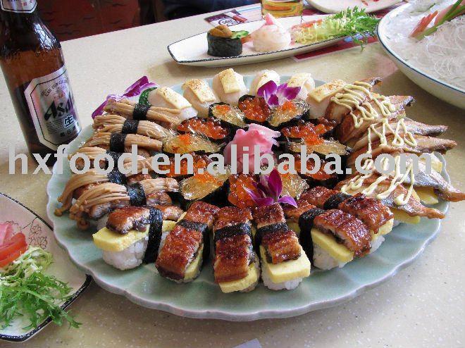 Frozen prepared eel for sushi buy eel roasted eel for Frozen fish for sushi