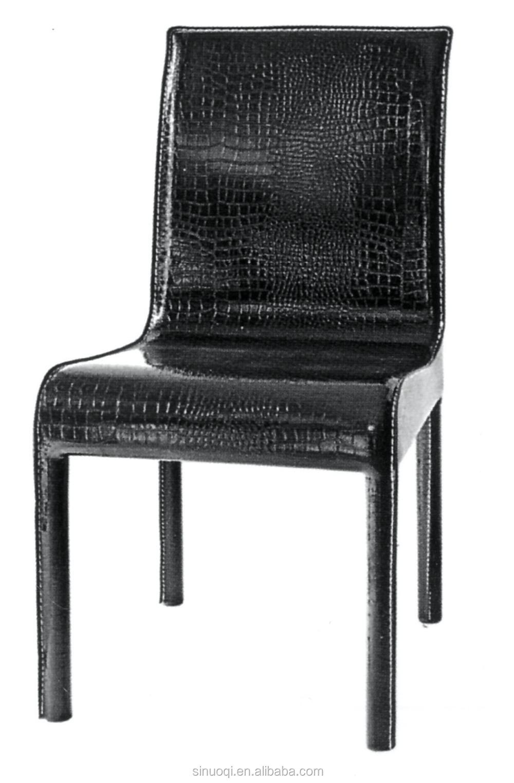 Modern design fashion chrome metal leg dining chair dining for Modern metal dining room chairs
