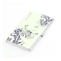 Business Credit Card Case /Card Holder Metal Stainless Steel Printing Slim Purse Pocket Cash Money Wallet