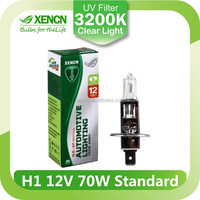 Halogen h1 12v 70w clear headlight bulb