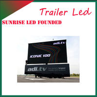 Low Price!!! Full color advertising p10/p12/p20/p16 High quality China hot sells led mobile truck display screens