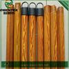 Guangxi suppiler directly PVC coated wood broom stick,wood mop handle,wood sweeper handle