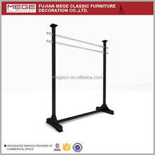 Free Standing Trousers Hanging Rack Fashion Store Fixtures