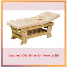 wooden frame thai massage bed