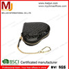 china factory leather jewelry gift case leather pouch with zipper gift products