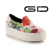 Latest women's flat vulcanized shoes with canvas casual shoes