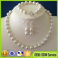 2015 Latest pearl chain necklace designs bridal pearl necklace costume jewelry #B023