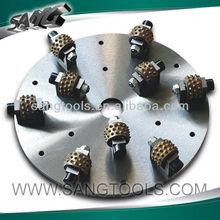 Bush hammer for stone grinding