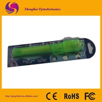 Green uv light invisible ink pen/magic disappearing ink pen