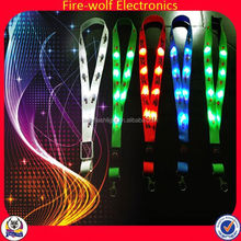 Most Popular Products Toy LED Flashing Lanyard With Card Agency