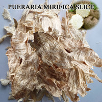Pure and Natural Thailand Pueraria Mirifica/ White Kwao Krua Slice for Breast Enhencement