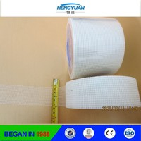 high quality higher adhesive power 50mmx90m 5x5 65g/m2 concrete drywall fiberglass mesh tape for Water Tanks