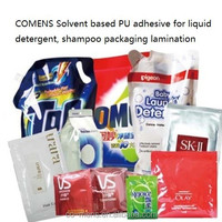 Cosmetic flexible packaging dry laminating poly urethane adhesive