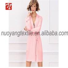 100% microfiber bathrobe wholesale colourful