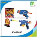 Venta al por mayor bomba juguetes proyecto de pistola pistola de bala blanda 10 con pistola de balas de armas y, jg022680