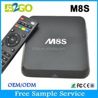 2015 Hot Selling dreambox 800 hd se clone M8S AMLogic S812 Quad Core 2g 8g 2.0GHz 4K google samrt tv box