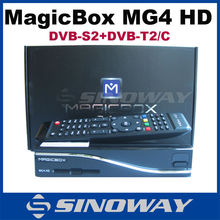 MAGICBOX MG4 HD 800MHz Enigma Linux digital satellite receiver with Fan & wifi DVB-S2 T2/C tuner hot in Italy sat receiver mg4