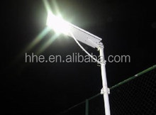 New Product Easy Installation 25W Integrated Smart All In One Solar Street Light With Motion Sensor