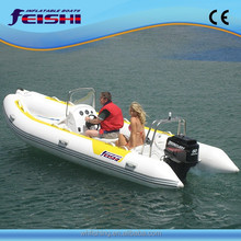luxury pvc inflatable rib boat