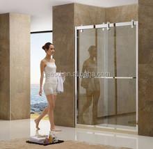 Foshan Custom Sliding Shower Screen #D55
