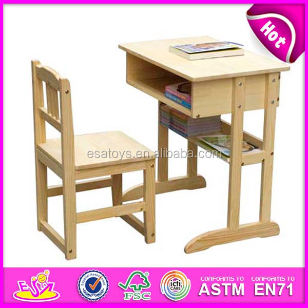 Autob250s escolar los ni241os de madera mesa de estudio y una  : School bus wooden kids study table and <strong>Girls</strong> Desk Chair from spanish.alibaba.com size 600 x 600 jpeg 82kB
