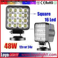 On sale ! led driving 48 watt led work light autozone for truck